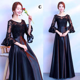 Long Black Gown for Prom