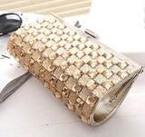 Dinner Clutch With Crystal Embellishment
