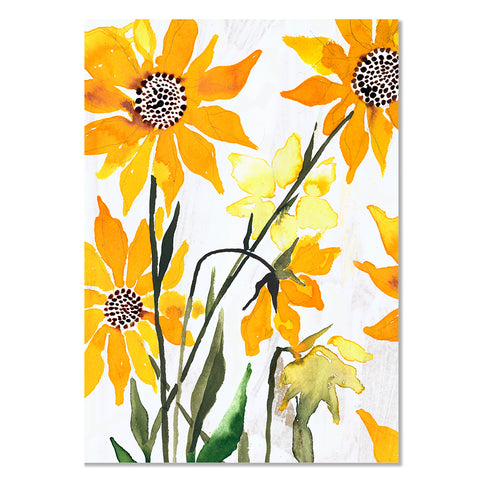 Card - Sunflowers