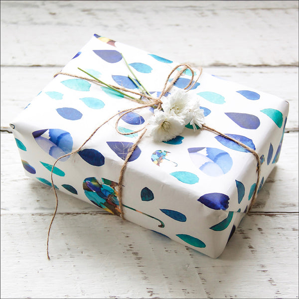 Wrapping Paper - Raining Tears