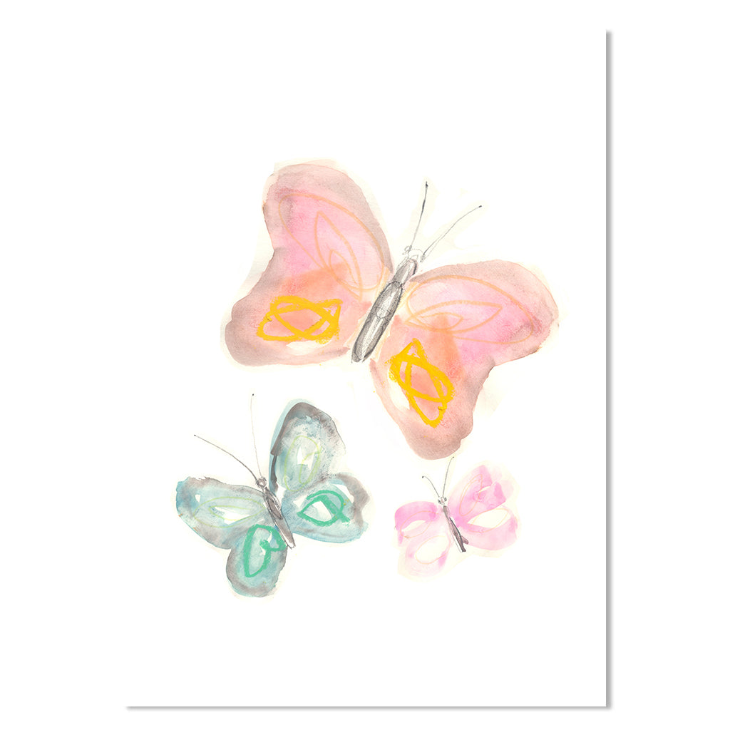 EP Mini Card - Butterflies
