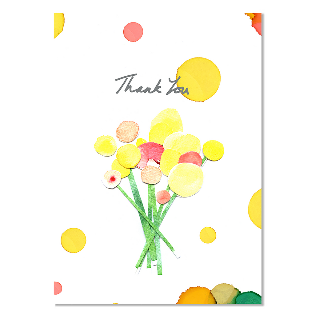Card - Billy Button Thank you