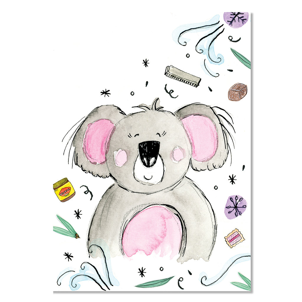 EM Card - Darla the Koala
