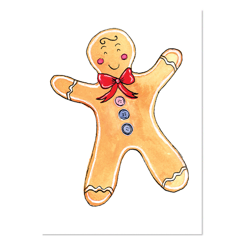 EM Card - Gingerbread Man