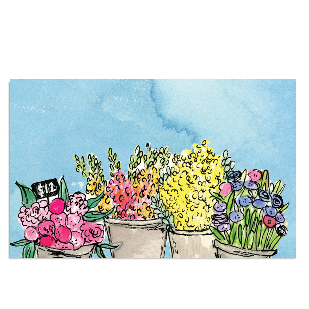 EM Mini Card - Flower Market