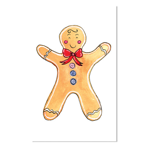 EM Mini Card - Gingerbread