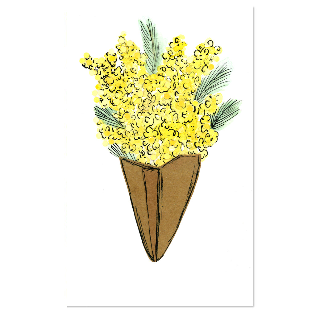EM Mini Card - Wattle