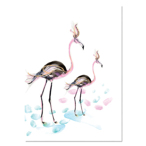 EP Card - Flamingo Fancy