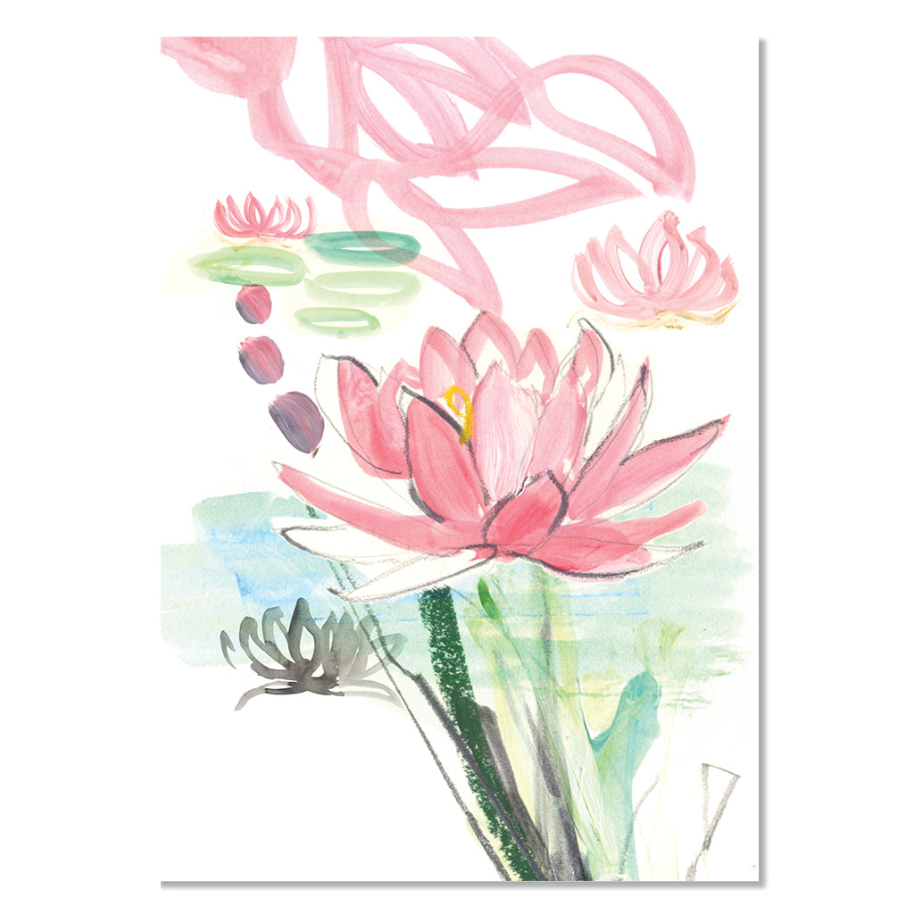 EP Mini Card - Lotus