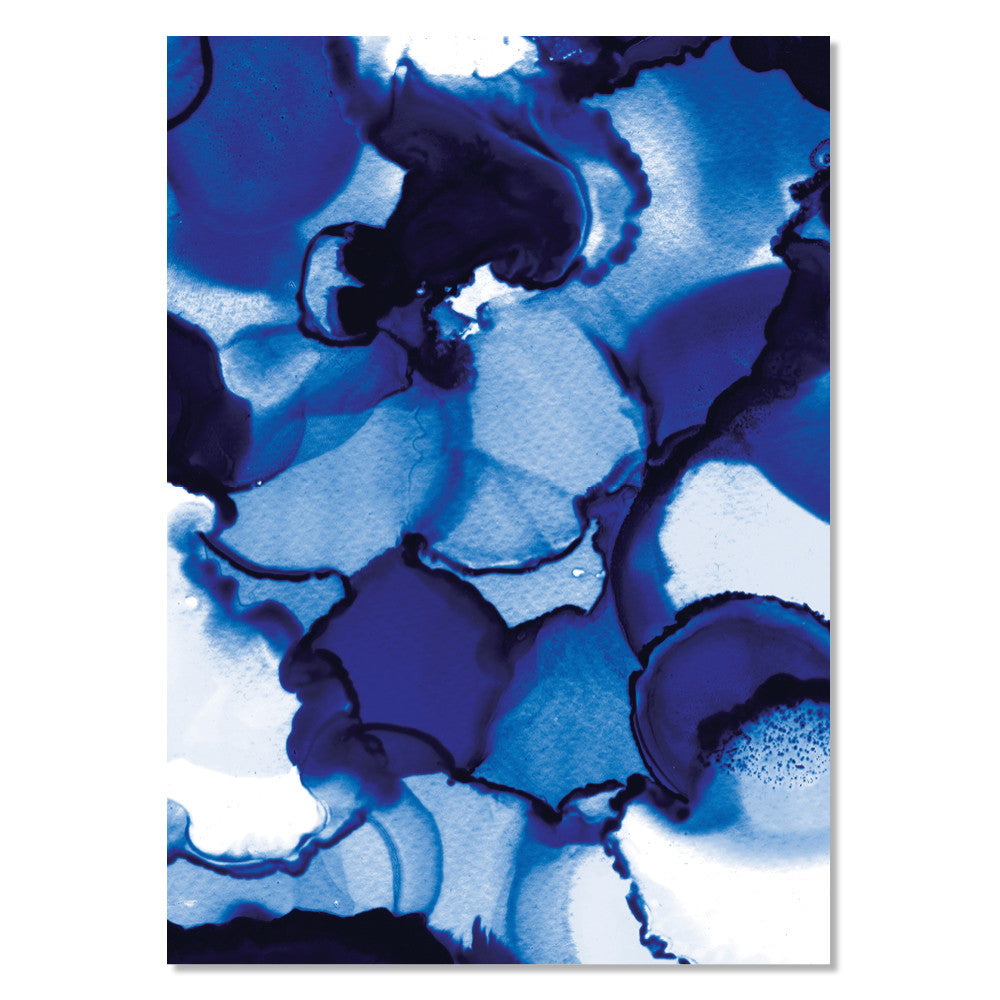 Art Print - Blomfield Blues (unframed)