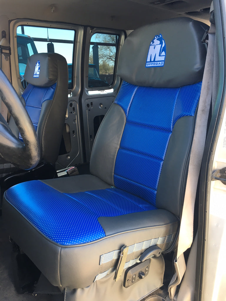 New ML Offroad seat covers in the Van!