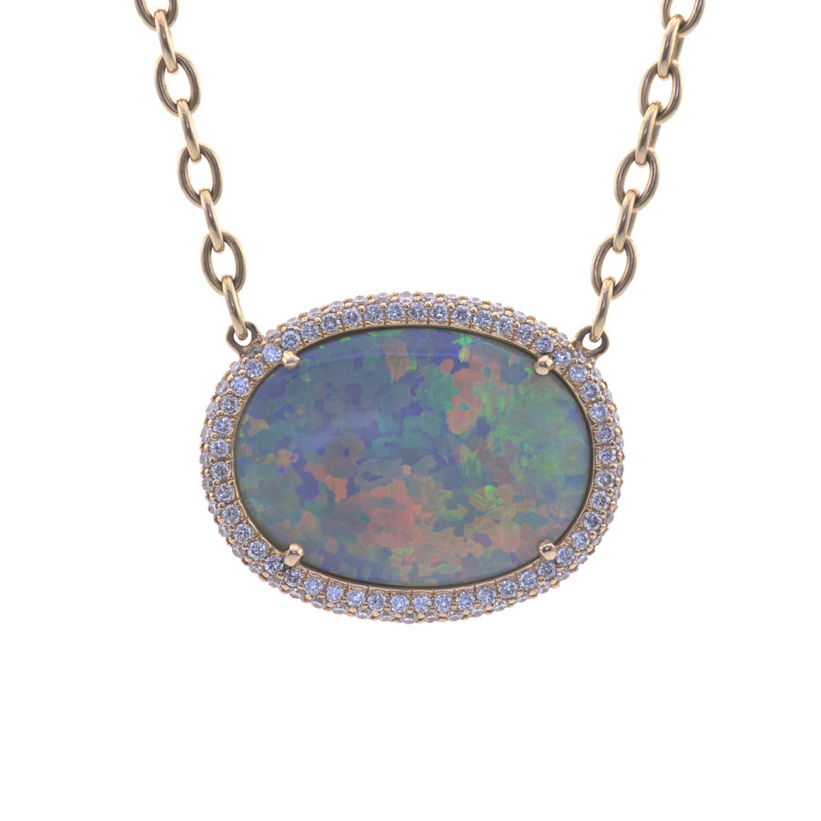 Celestial Opal Necklace