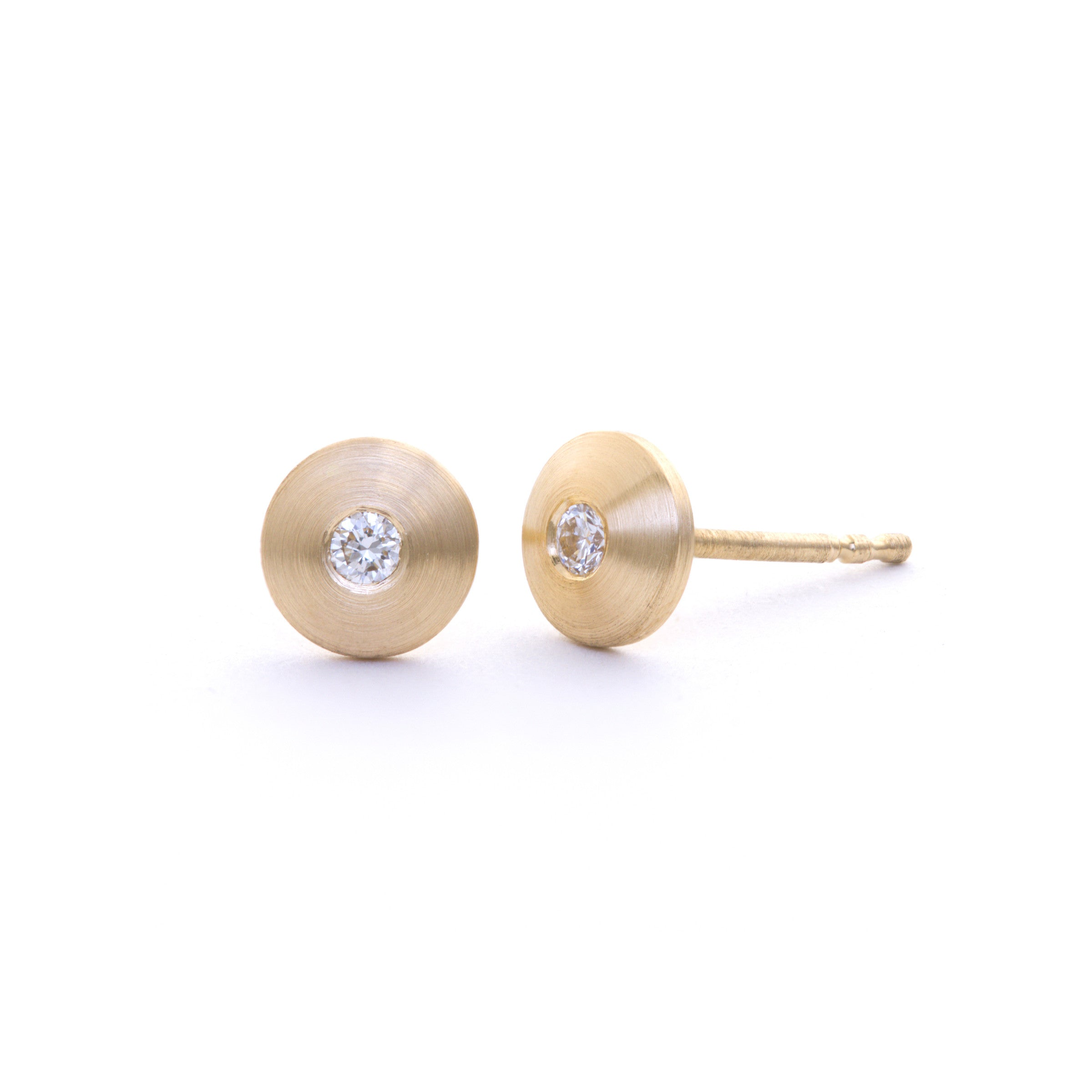en follie small santorini stud flower earrings plated hires cm ball silver gold folli