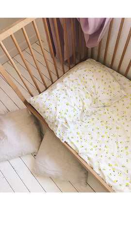 Organic petal pillowcase