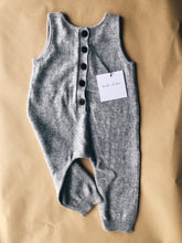 Cashmere romper in rust or grey merle