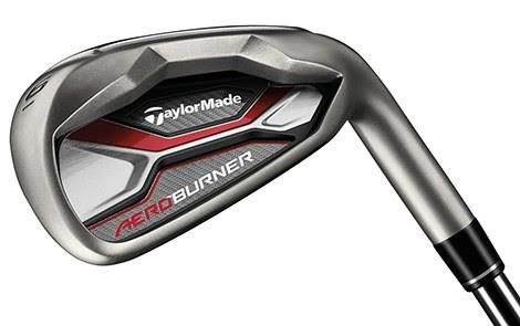 TaylorMade AeroBurner 2017 Mens Irons (Steel) Reg Shaft