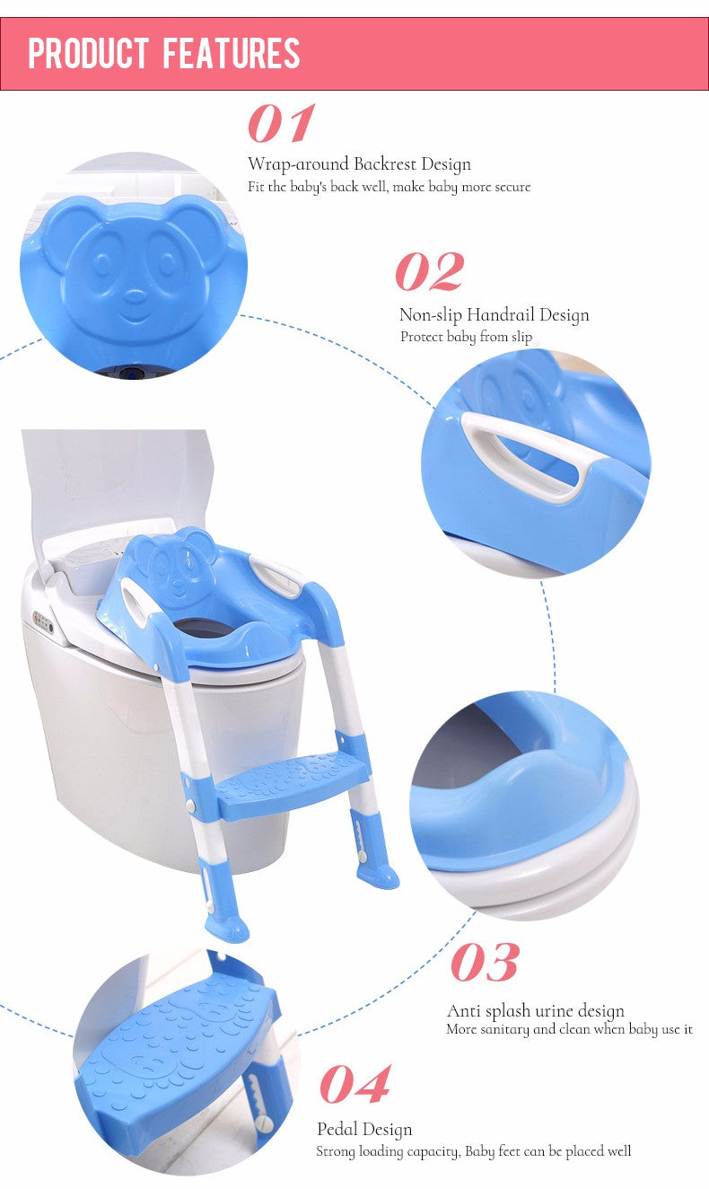 Potty Training | Toddler & Baby Toilet Ladder and Seat on Sale ...