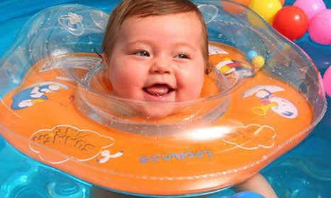 Buy Happy Baby Inflatable Swimming Ring Online | Better Day Store
