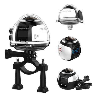 360 Ultra HD Panoramic Wifi Action Camera: Waterproof Case + Mounts Included - Better Day