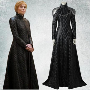 Cersei Lannister  Black Dress Costume