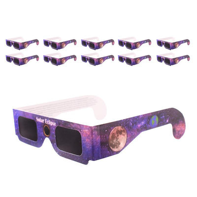 Solar Eclipse Glasses - 5 Piece