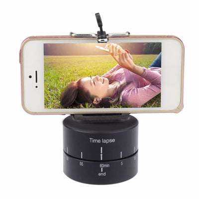 360 Degree Time lapse Auto-Rotating Base for DSLRS, Phones, & GoPro - Better Day