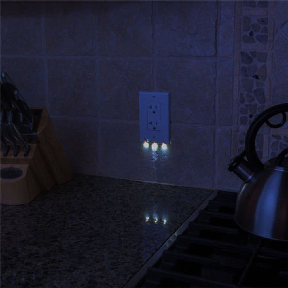 Buy LED Nightlight Outlet Cover (Pack of 2) | Better Day Store