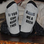 If You Can Read This, Bring Me a Beer Socks - Better Day