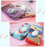 Squishy Cat Phone Case - Better Day
