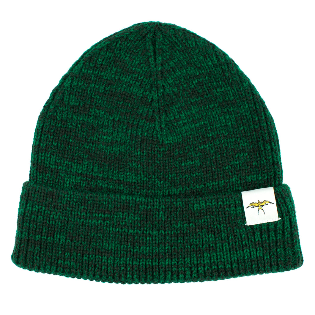 Hat108 - Donald Takayama bird patch beanie