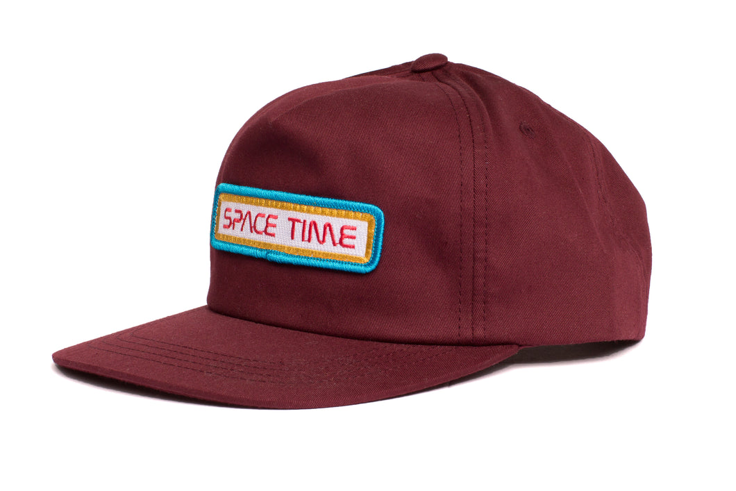 Space Time Surfboards Test pilot logo patch hat
