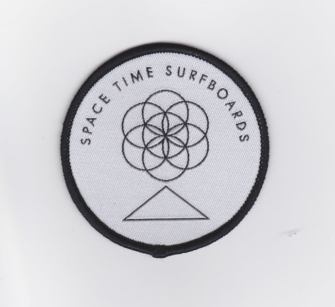 Space Time Surfboards - Sphere Logo Patch