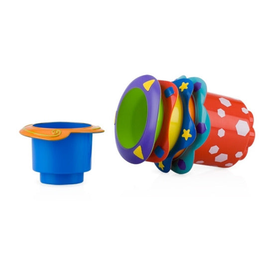 Splish Splash™ Stacking Cups - 5 pack By Nuby