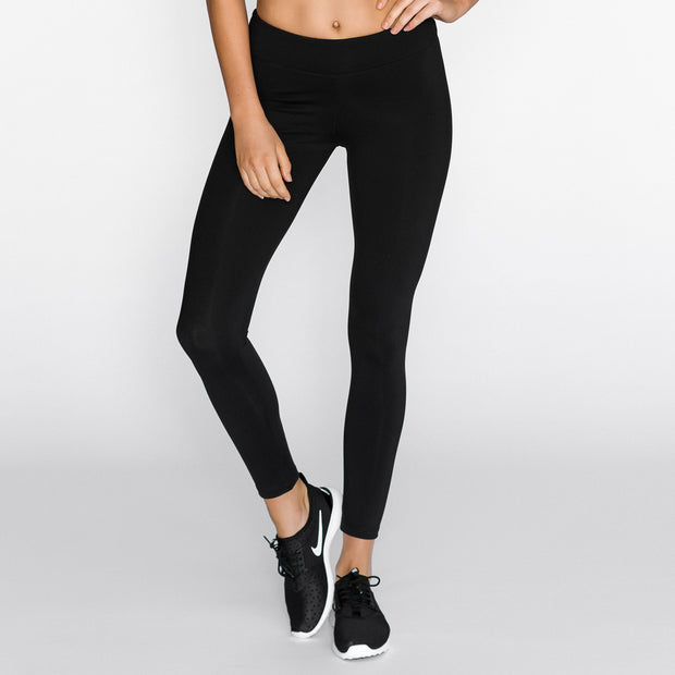 Sport Le Moda - Essential Full Black Tight
