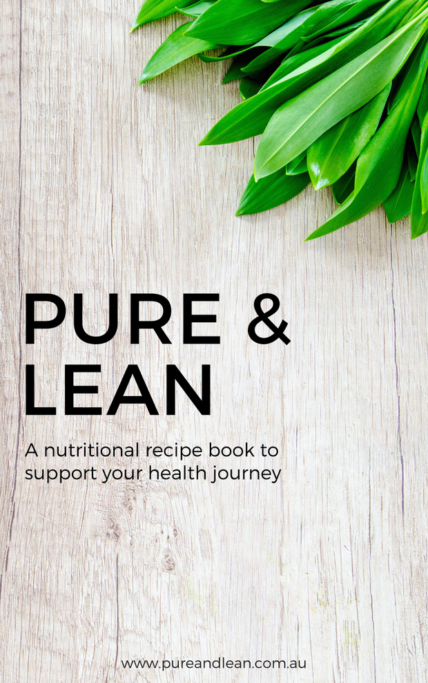 Pure& Lean EAT Book - 1st Edition