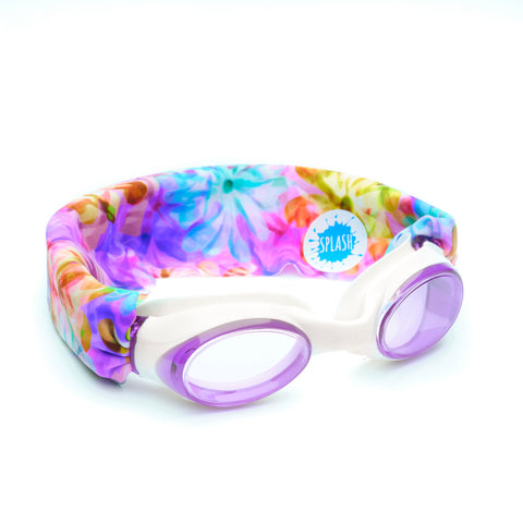 Kaleidoscope Swim Goggles - Splash Swim Goggles