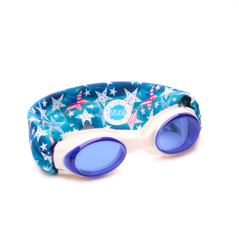 'Merica Swim Goggles - Splash Swim Goggles