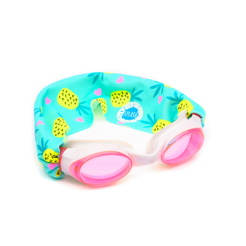 Pineapple Crush Swim Goggles