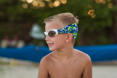 Rainbow Unicorn Swim Goggles - Splash Swim Goggles