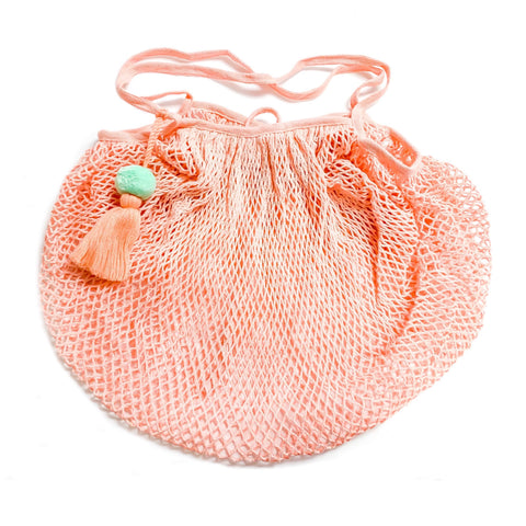 Pastel Pink Beach Bag - Splash Swim Goggles