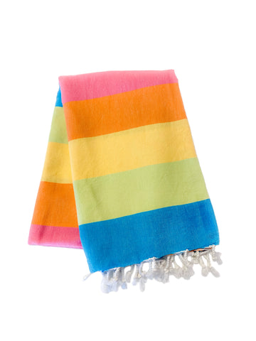 Fiesta Turkish Towel by Splash Swim Goggles - Beach, Pool and Travel Peshtemal - Splash Swim Goggles