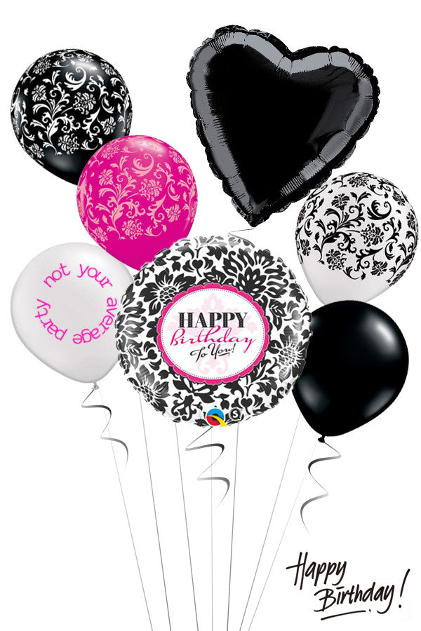 Balloon Bouquets General Birthday Tagged Damask Not Your