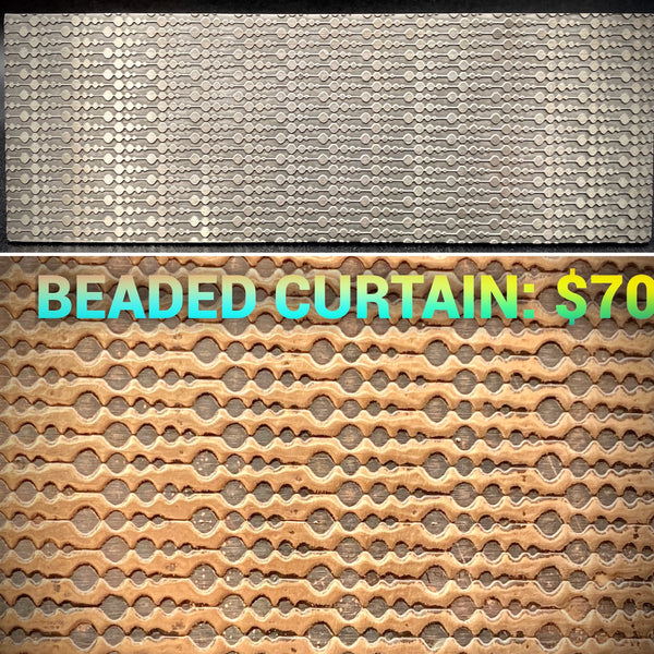 Beaded Curtain Texture Plate PREORDER
