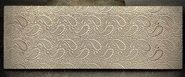 NEW Burlesque Paisley Texture Plate PREORDER