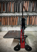 "6"" Bench Shear ILLUSION RED"