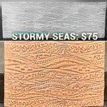 Stormy Seas Texture Plate PREORDER