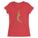 The Catch Ladies Triblend Tee