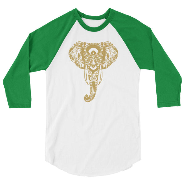 Oaktown Elephant Baseball Shirt