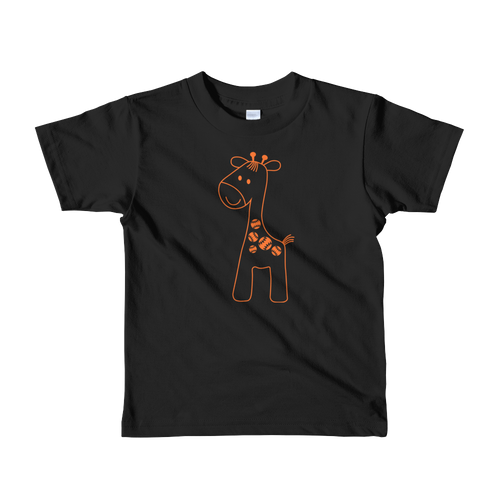 Baseball Giraffe Kids Shirt
