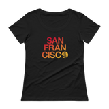 San Francisco Ladies Scoopneck Tee